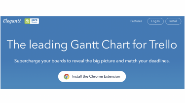 How to create a Gantt chart with the Trello add-on