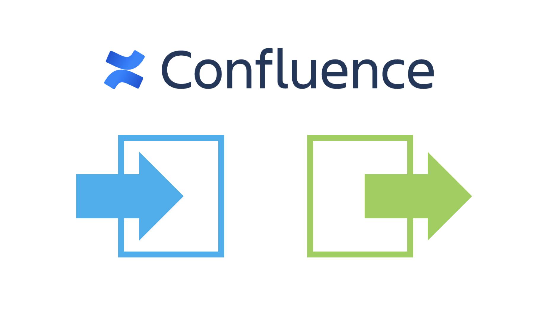 Confluence(コンフルエンス)のデータをインポート・エクスポートする方法