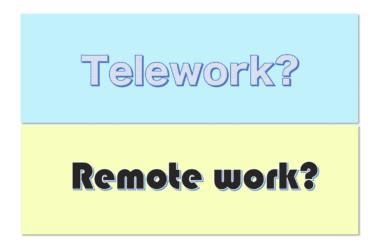 リモートワークとテレワークの違いは?在宅勤務に関する様々な表現を解説